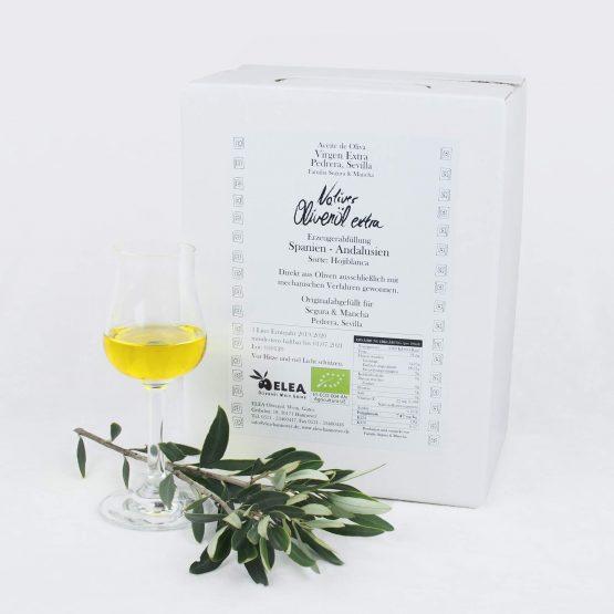 ELEA Bio Olivenöl Andalusien 3L Bag in Box