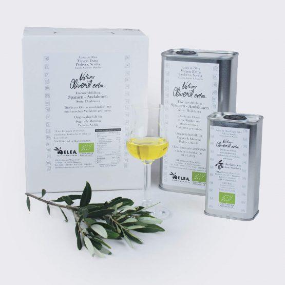 ELEA Bio Olivenöl aus Andalsuien 250, 1000 und 3000ml